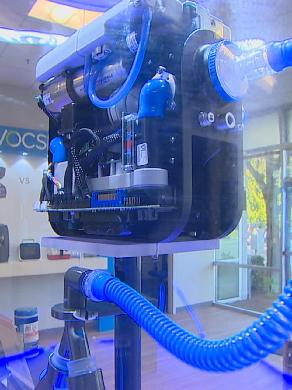 ИВЛ аппарат - искусственная вентиляция легких